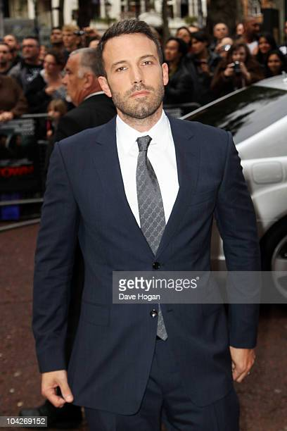 Ben Affleck attends a special screening of The Town held at The Odeon West End on September 19 2010 in London England