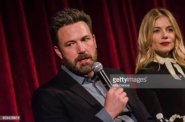 Ben Affleck attends an official academy screening of LIVE BY NIGHT hosted by the The Academy of Motion Picture Arts and Sciences at MOMA Celeste...