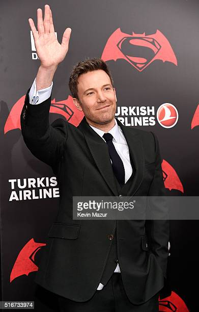 """Ben Affleck attends """"Batman V Superman: Dawn Of Justice"""" New York premiere at Radio City Music Hall on March 20, 2016 in New York City."""