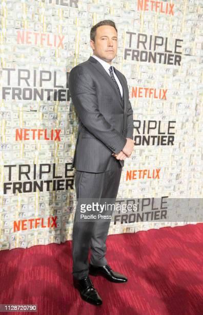 Ben Affleck attends Netflix Triple Frontier World Premiere at Jazz at Lincoln Center.
