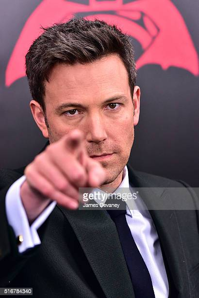 Ben Affleck attends the 'Batman V Superman Dawn Of Justice' New York premiere at Radio City Music Hall on March 20 2016 in New York City
