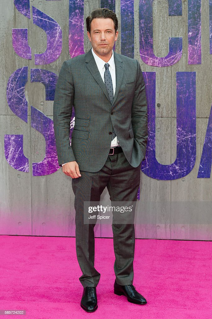Ben Affleck attends the European Premiere of 'Suicide Squad' at Odeon Leicester Square on August 3, 2016 in London, England.