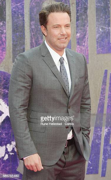 """Ben Affleck attends the European Premiere of """"Suicide Squad"""" at Odeon Leicester Square on August 3, 2016 in London, England."""