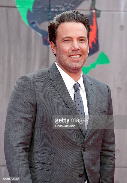 Ben Affleck attends the European Premiere of 'Suicide Squad' at the Odeon Leicester Square on August 3 2016 in London England