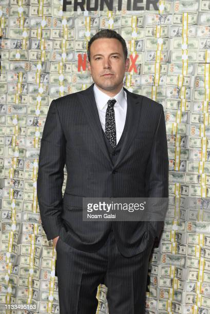 """Ben Affleck attends the """"Triple Frontier"""" World Premiere at Jazz at Lincoln Center on March 03, 2019 in New York City."""