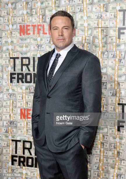 Ben Affleck attends the Triple Frontier World Premiere at Jazz at Lincoln Center on March 03 2019 in New York City