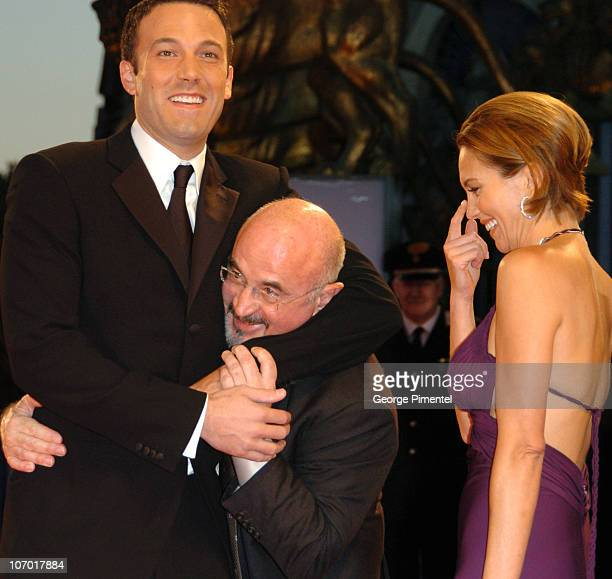 Ben Affleck Bob Hoskins and Diane Lane during The 63rd International Venice Film Festival 'Hollywoodland' Premiere Arrivals at Palazzo Del Cinema in...