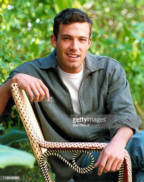 Ben Affleck during Ben Affleck Portrait Session on February 20 1998 at Chateau Marmont Hotel in Los Angeles California United States