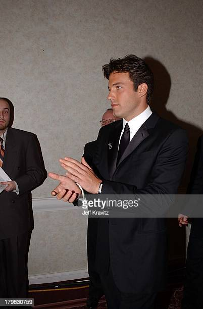 Ben Affleck during Golden Globes 2001 in Beverly Hills California United States