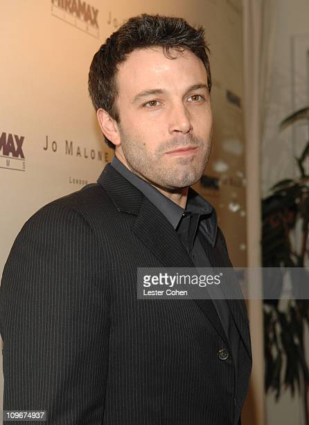 Ben Affleck during Miramax Films and British Fragrance House Jo Malone Join to Celebrate 2007 OscarNominated Films The Queen and Venus at Sunset...