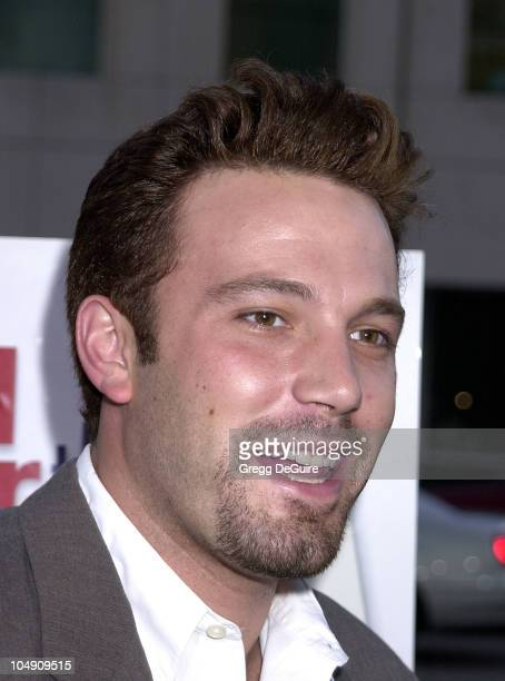 Ben Affleck during Outfest 2001 Closing Night Gala Red Carpet Party at Academy Theatre in Beverly Hills California United States