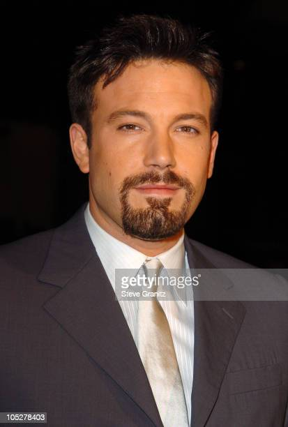 Ben Affleck during 'Paycheck' World Premiere at Grauman's Chinese Theatre in Hollywood California United States