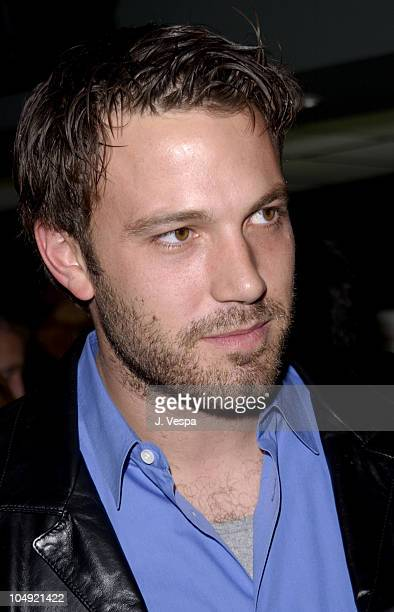 Ben Affleck during Project Greenlight Screening at Chelsea West Theaters in New York City New York United States
