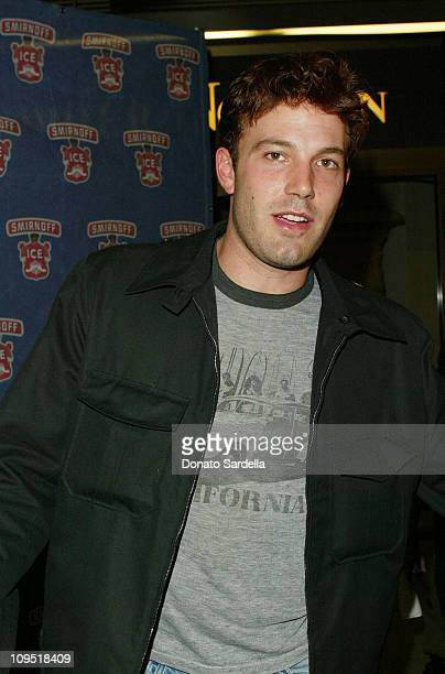 Ben Affleck during Smirnoff Ice Endeavor Talent Agency Preparty for the MTV Movie AwardsArrivals at Pacific Design Center in Los Angeles California...