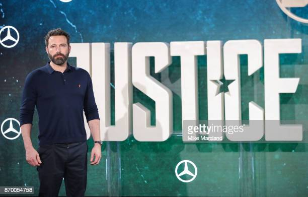 Ben Affleck during the 'Justice League' photocall at The College on November 4 2017 in London England
