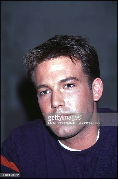 Ben Affleck in Montreal for the shoot of the movie The sum of all fears In Montreal Canada On April 09 2001
