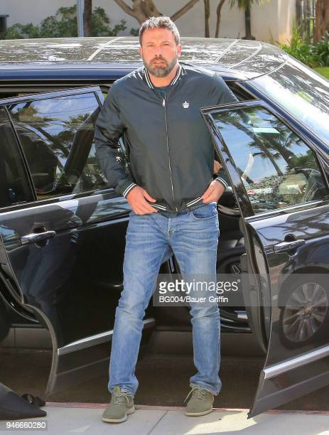Ben Affleck is seen on April 15 2018 in Los Angeles California
