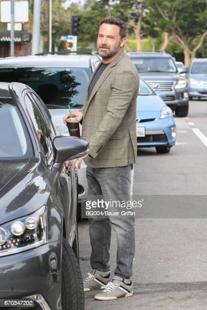 Ben Affleck is seen on April 19 2017 in Los Angeles California