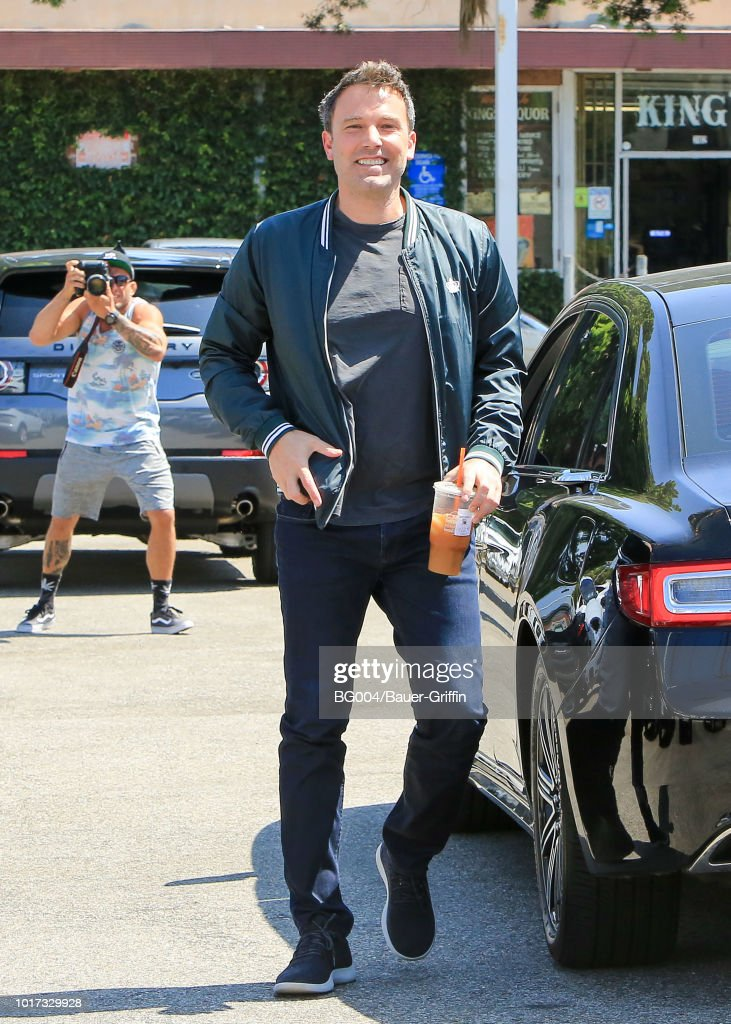 Celebrity Sightings In Los Angeles - August 15, 2018