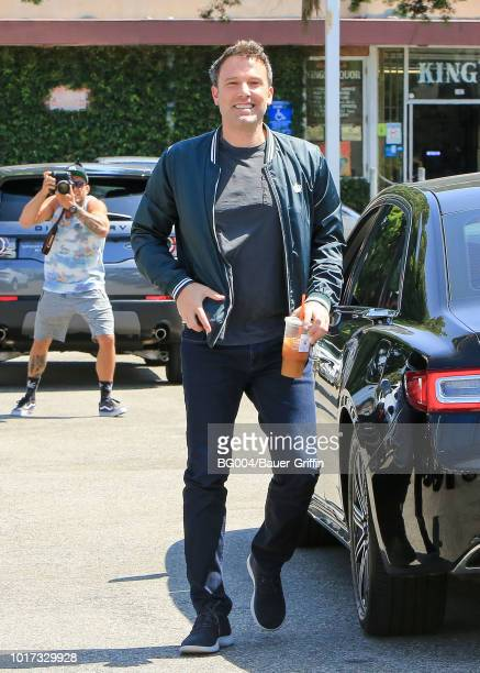 Ben Affleck is seen on August 15 2018 in Los Angeles California