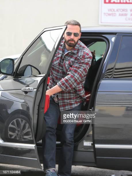 Ben Affleck is seen on December 09 2018 in Los Angeles California