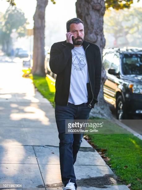 Ben Affleck is seen on December 11 2018 in Los Angeles California