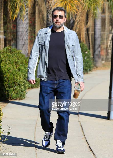 Ben Affleck is seen on February 03 2018 in Los Angeles California