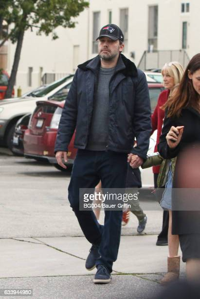 Ben Affleck is seen on February 05 2017 in Los Angeles California