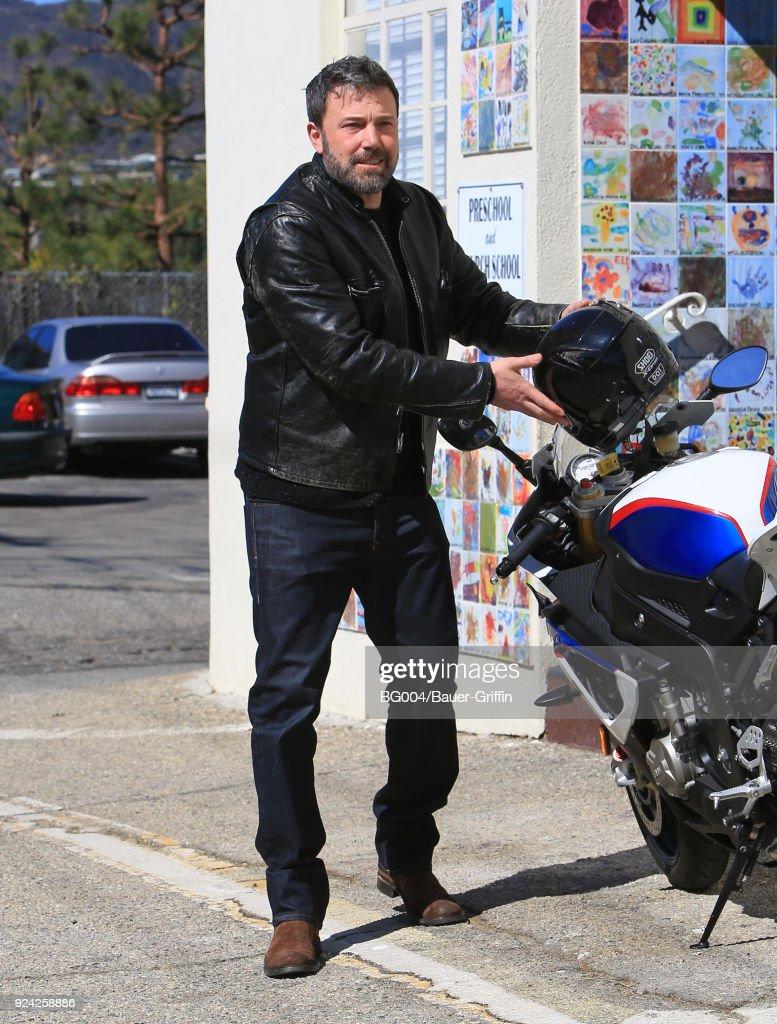 Celebrity Sightings In Los Angeles - February 25, 2018