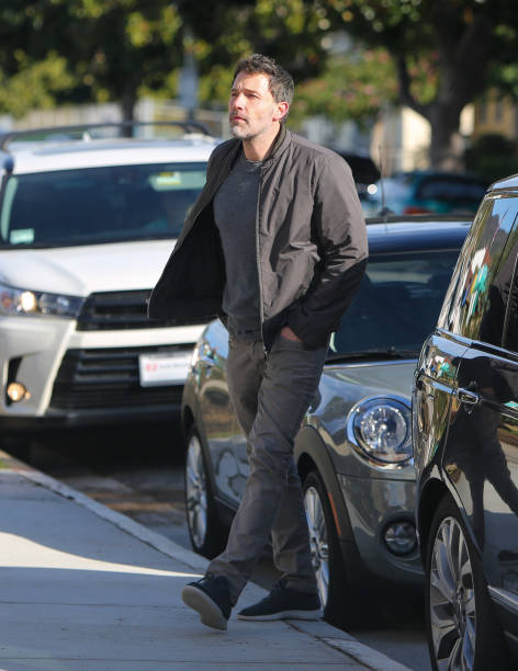 Ben Aflleck is seen on March 1 2020 in Los Angeles California
