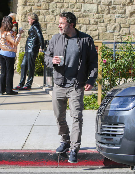 Ben Affleck visits the Jess Cagle Show at the SiriusXM Hollywood Studios on March 03 2020 in Los Angeles California