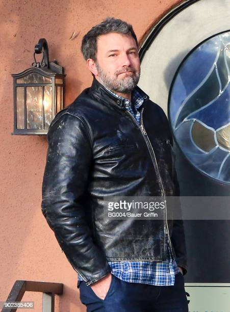 Ben Affleck is seen on January 07 2018 in Los Angeles California