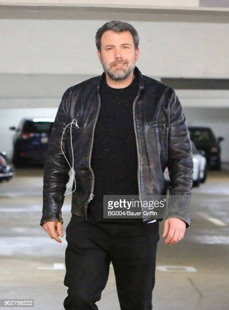 Ben Affleck is seen on January 08 2018 in Los Angeles California