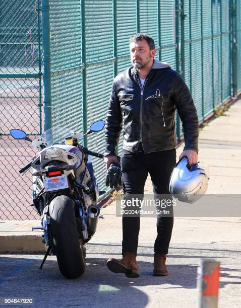 Ben Affleck is seen on January 13 2018 in Los Angeles California