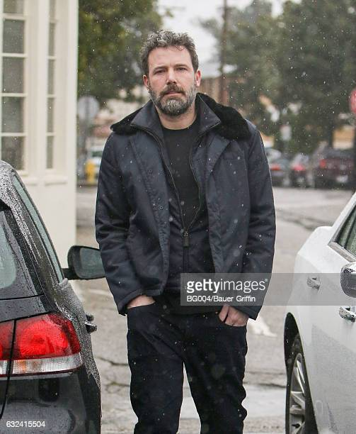 Ben Affleck is seen on January 22 2017 in Los Angeles California