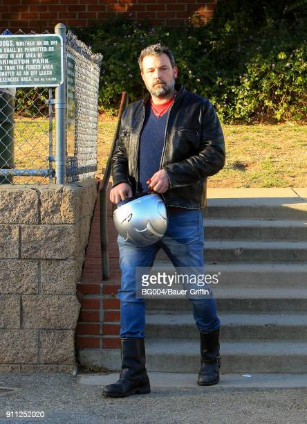 Ben Affleck is seen on January 27 2018 in Los Angeles California