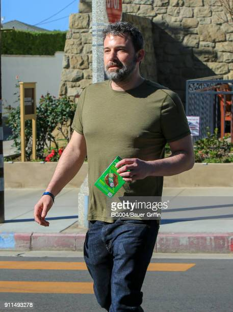 Ben Affleck is seen on January 28 2018 in Los Angeles California