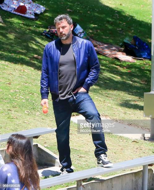 Ben Affleck is seen on June 02 2018 in Los Angeles California