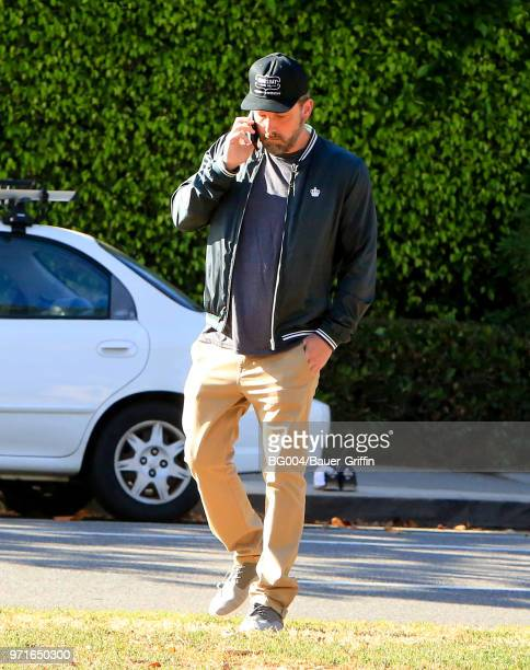 Ben Affleck is seen on June 11 2018 in Los Angeles California