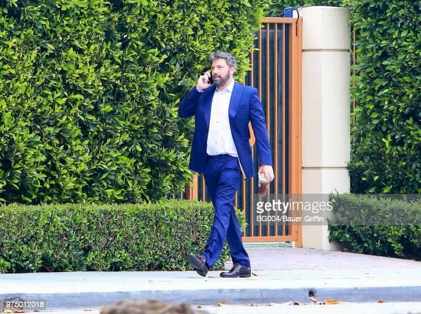Ben Affleck is seen on June 14 2018 in Los Angeles California