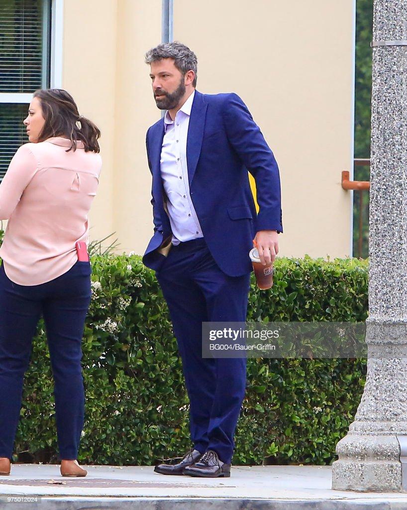 Ben Affleck is seen on June 14, 2018 in Los Angeles, California.