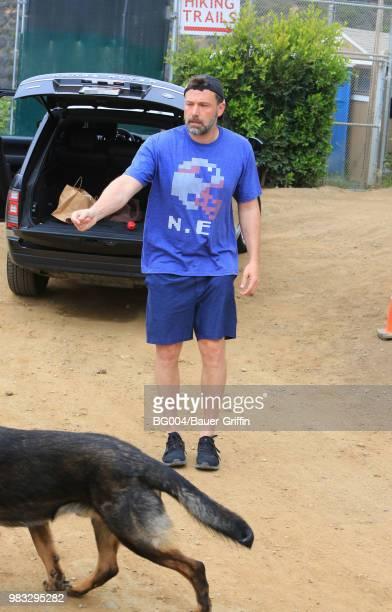 Ben Affleck is seen on June 24 2018 in Los Angeles California
