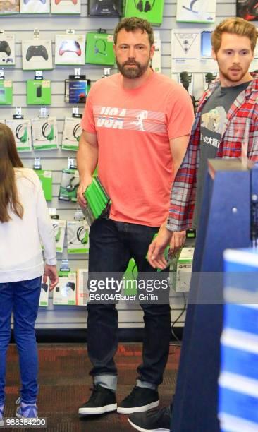 Ben Affleck is seen on June 30 2018 in Los Angeles California