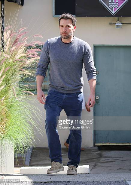 Ben Affleck is seen on March 06 2016 in Los Angeles California