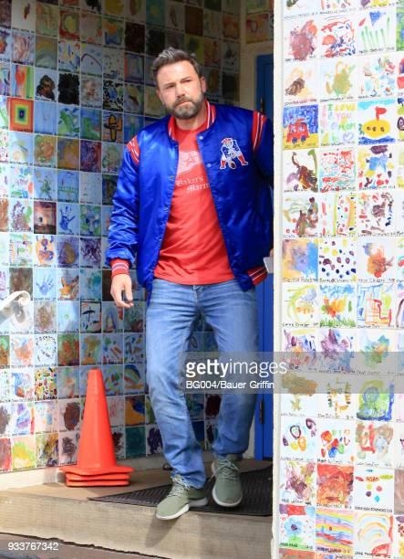 Ben Affleck is seen on March 18 2018 in Los Angeles California