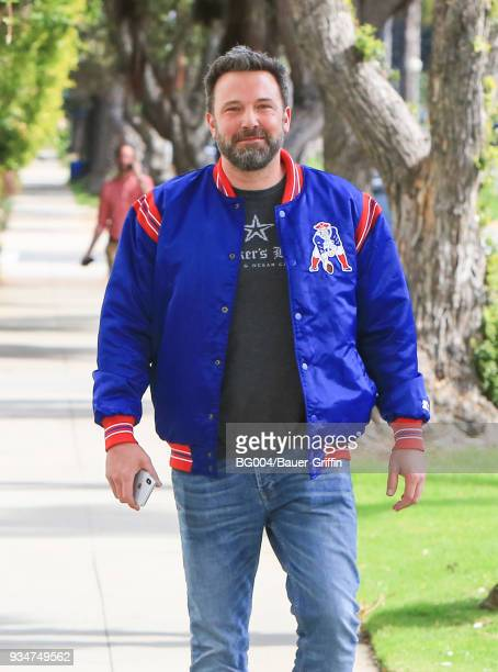 Ben Affleck is seen on March 19 2018 in Los Angeles California