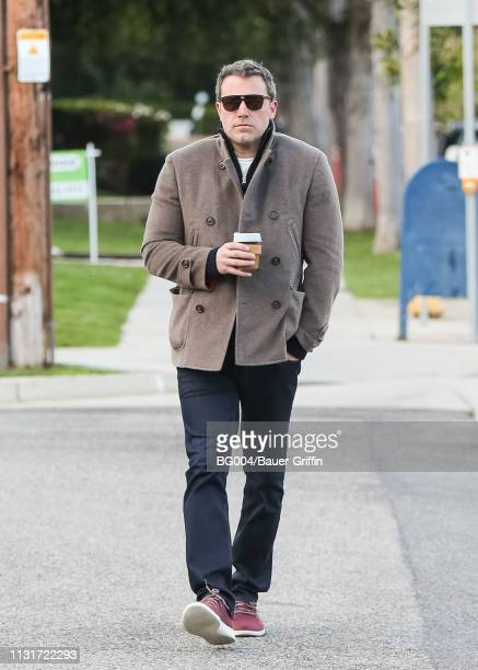 Ben Affleck is seen on March 20 2019 in Los Angeles California