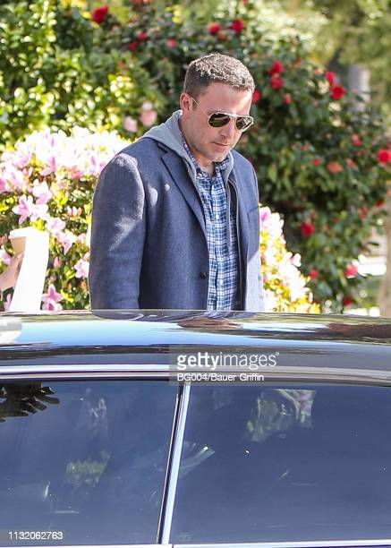 Ben Affleck is seen on March 22 2019 in Los Angeles California