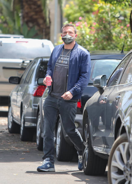 Ben Affleck is seen on May 08 2020 in Los Angeles California