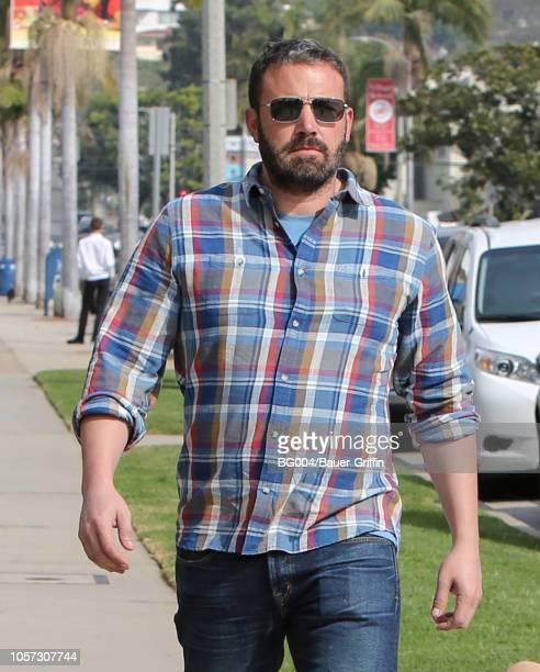 Ben Affleck is seen on November 04 2018 in Los Angeles California